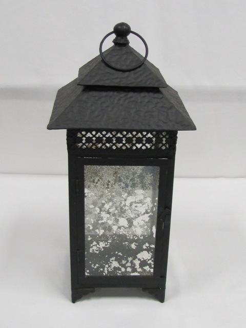 Double Roof Black Lantern $10