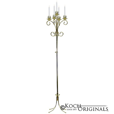 Brass Tree Candelabra $12