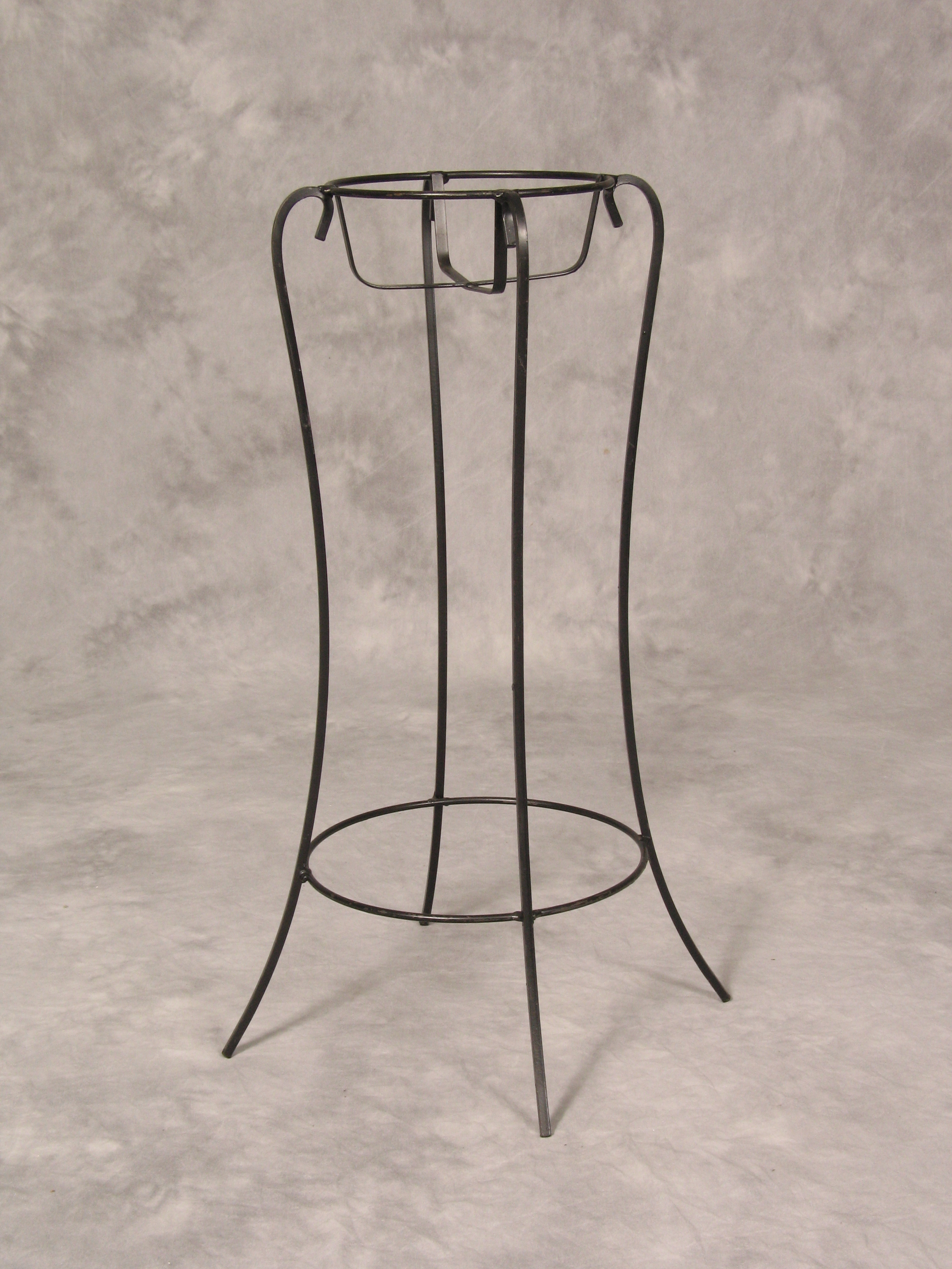 Black Wrought Iron Plant Stand