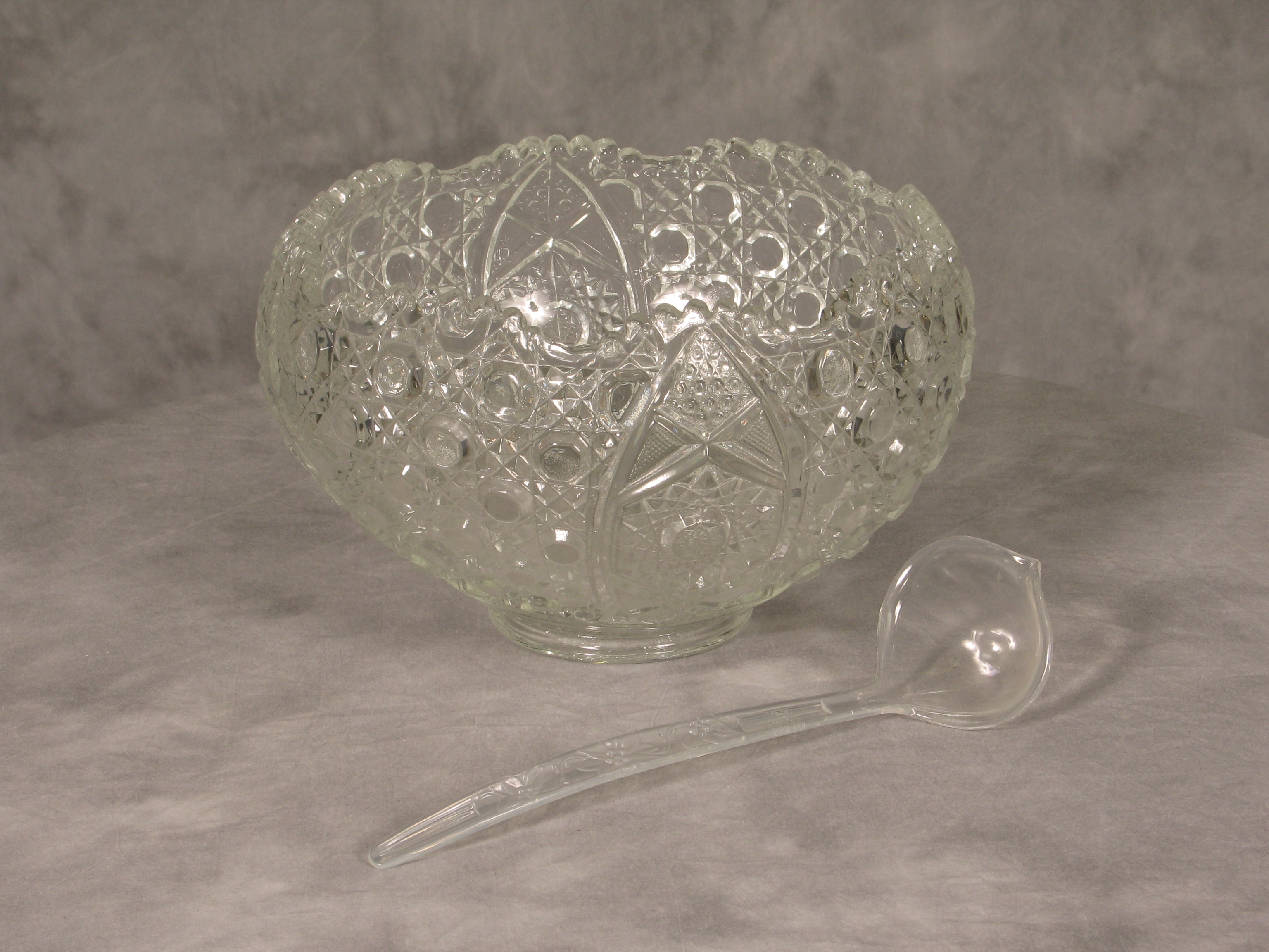 Crystal Punch Bowl $11