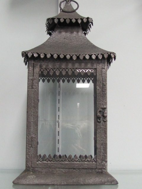 DBL Roof Gun Metal Gray Lantern $10