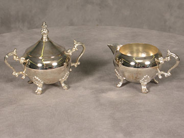 Formal Sugar/Creamer Set $11