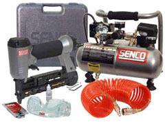 Nail Gun Kit (Includes Compressor)