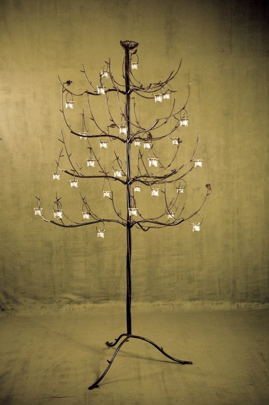 8' Votive Tree $25