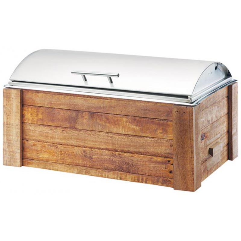 Chafer Roll Top Wooden $25