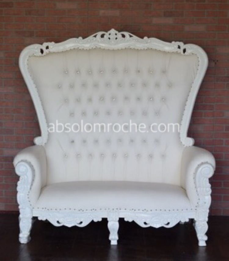 Throne Loveseat $200
